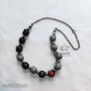 unikatna ogrlica vintage -1000